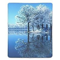 マウスパッド 耐久性 疲労低減 反射雪自然冬の空の霜