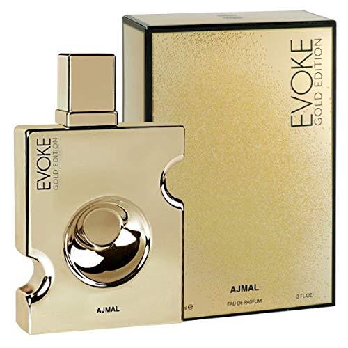 Evoke Gold Edition by Ajmal - Eau de Parfum para hombre (90 ml)