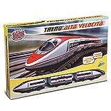 Grandi Giochi- Treno Alta velocità. con Pista, Multicolore, GG-51507
