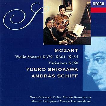 "Mozart: Violin Sonatas Nos. 21, 27 & 32; Six Variations on ""Hélas, j'ai perdu mon amant"""