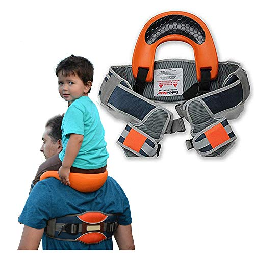 Child Shoulder Carrier,Baby Backpack for Hiking,Toddler Ankle Straps Hands Free Backpacks - Holds a 44.1lb Child for Ergonomic Seat