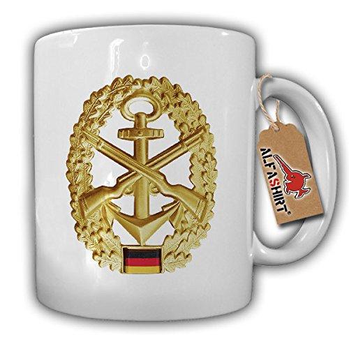Marine Marinesicherungskräfte MSK Infanterie Bundeswehr Bund Barettabzeichen Abzeichen Aufnäher Patch - Tasse Kaffee Becher #11429