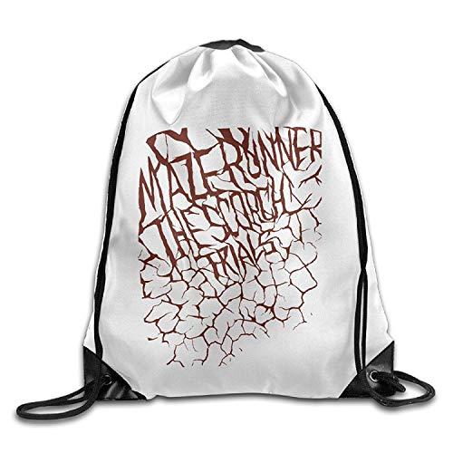 Sporttaschen Turnbeutel Unisex Maze Runner Scorch Trials Sports Drawstring Backpack Bag Fashion