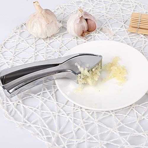 PLUS PO Knoblauchpresse Edelstahl Rostfrei Premium Edelstahl Knoblauchpresse Knoblauchpresse Knoblauchpresse Aus Zinklegierung Haushalts-Multifunktions-Knoblauchpresse Zum Küche
