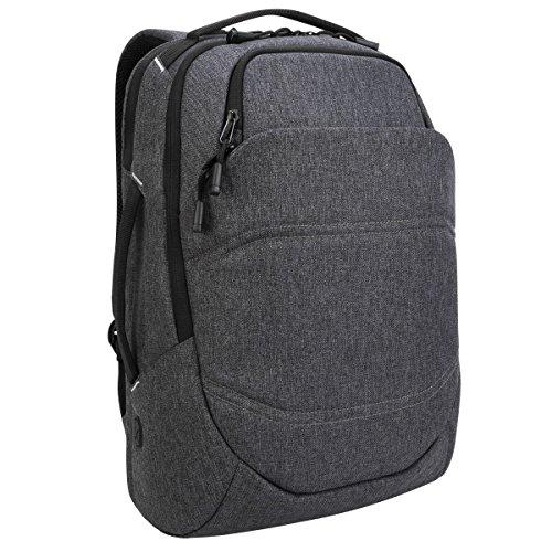 Targus Groove X2 Max 33 L Rucksack, großer Laptoprucksack für Notebooks bis zu 15 Zoll, wasserabweisender Tagesrucksack ideal für Uni und Büro – Charcoal, TSB951GL