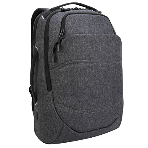 Targus Groove X2 Max Backpack with Protective Sleeve Designed for Travel and Commute fits up to 15-Inch Macbook and Other Laptop, Charcoal (TSB951GL)