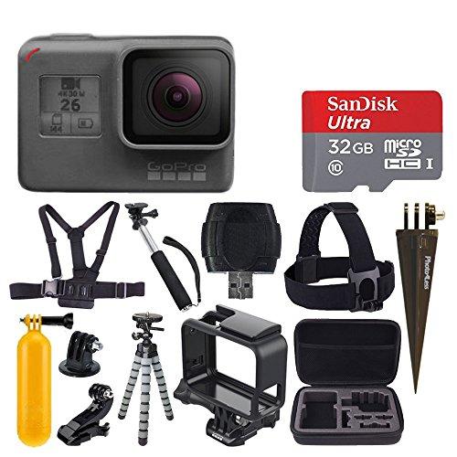 GoPro HERO6 Black + SanDisk Ultra 32GB Micro SDHC Memory...