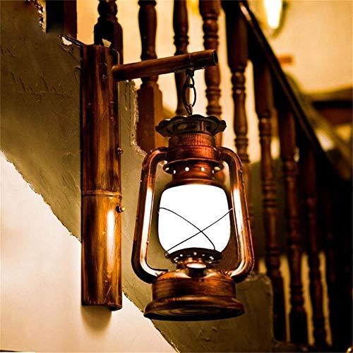 -Wall Lantern Chinese restaurant retro Art Deco wandlamp Creative Antieke bamboe slaapkamer balkon gangpad wandlamp