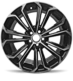 Road Ready Car Wheel For 2014-2016 Toyota Corolla 17 Inch 5 Lug Gray Aluminum Rim Fits R17 Tire - Exact OEM Replacement - Full-Size Spare