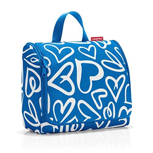 Reisenthel Extra Large Hanging Wash Bag - Funky Hearts