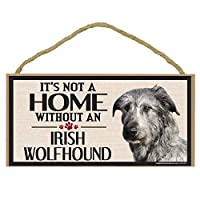 Imagine This Wood Sign for Irish Wolfhound Dog Breeds by Imagine This