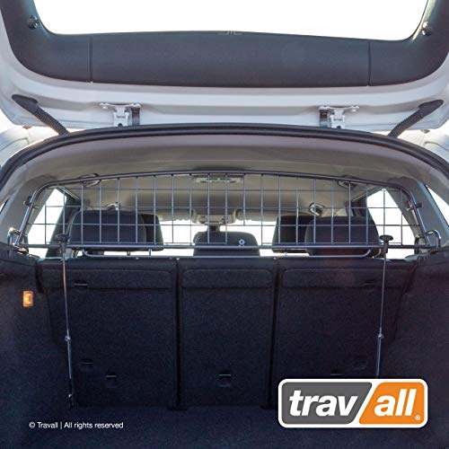 Travall Guard Compatible with BMW X1 (2009-2015) TDG1250 - Rattle-Free Steel Vehicle Specific Pet Barrier