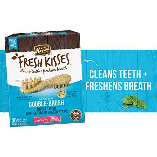 Merrick Fresh Kisses Small Oral Care Dental Dog Treats