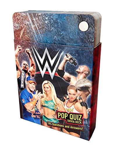 WWE Pop Quiz Trivia Deck