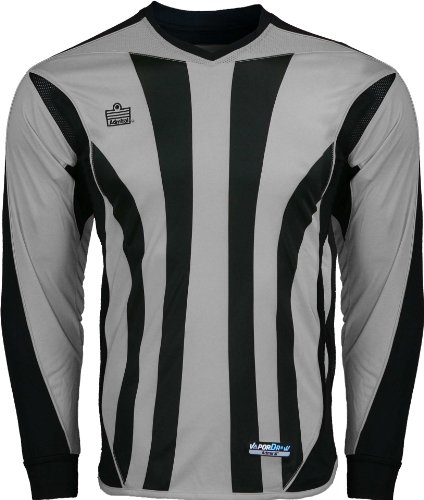 ADMIRAL Bayern Goalkeeper Jersey, Silver/Black, Adult Small