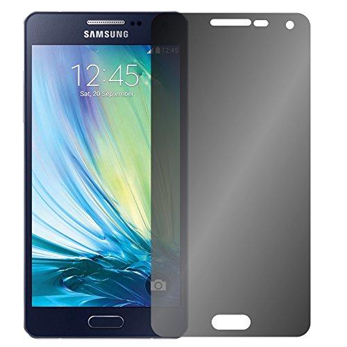 Slabo Blickschutzfolie für Samsung Galaxy A5 (2015) SM-A500FU Sichtschutz Displayschutzfolie View Protection Privacy Schwarz