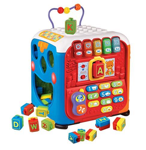 VTech- Baby: Alfacubo Sorpresas Cubo de...