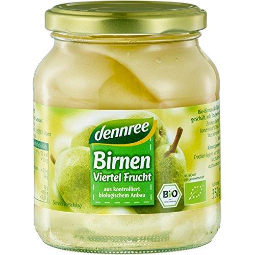 dennree Williams-Birnen im Glas (350 g) - Bio