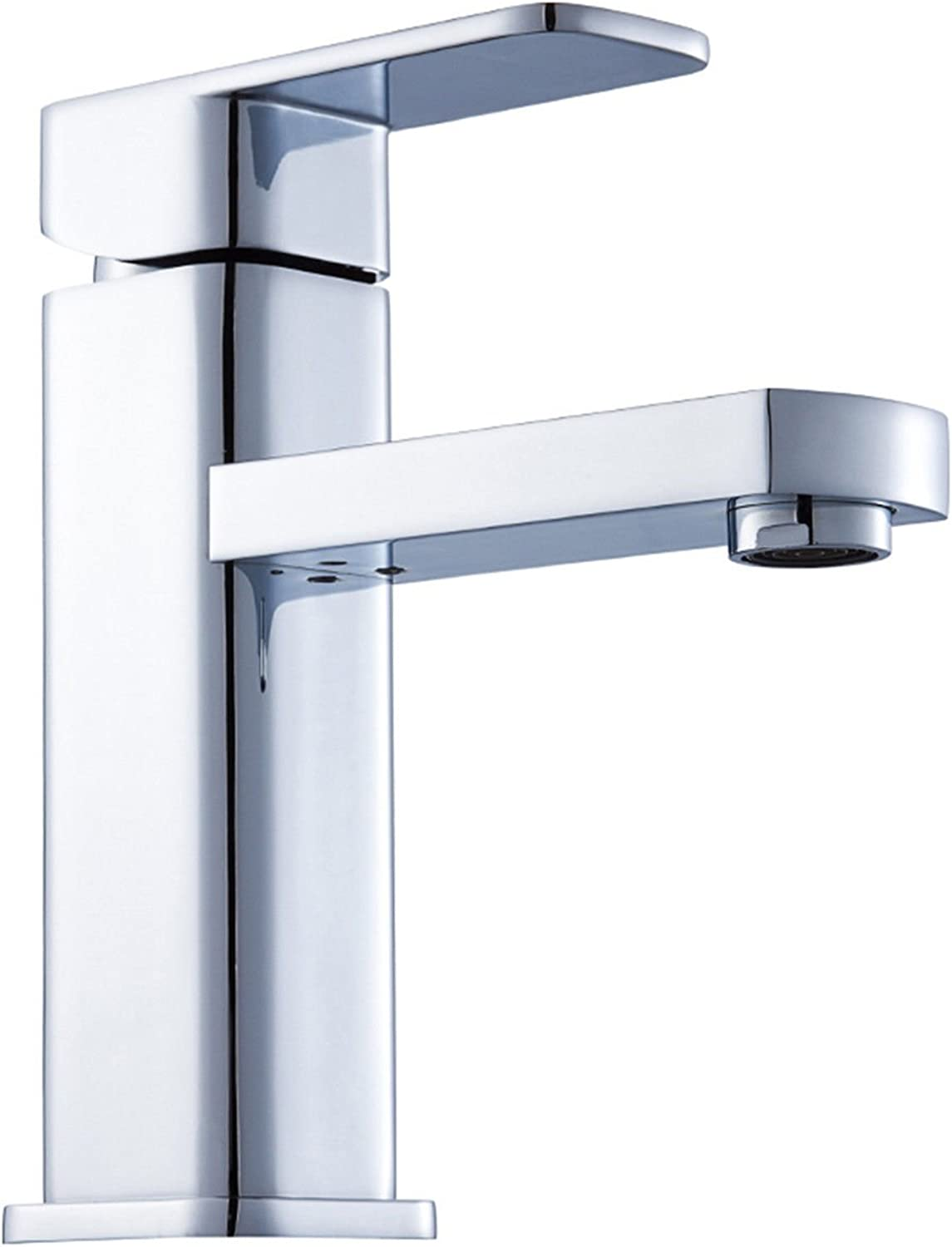 Gyps Faucet Single-Lever Washbasin Mixer Tap Tap Tap Home Wash Basin Cold Tap Washbasin Mixer Tap Classic Chrome