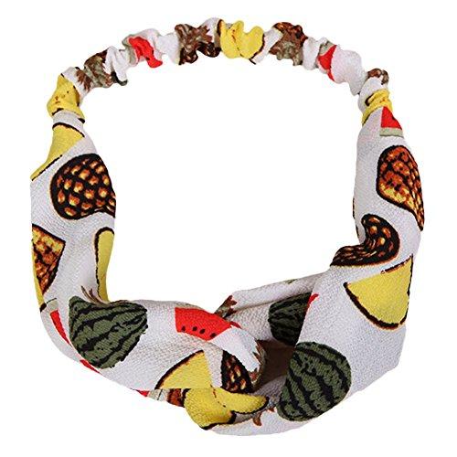 Vi.yo bandeau élastiques Hairband accessoire de cheveux pour les sports Yoga Running Fitness 1 pc(style 2)