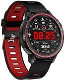 Reloj inteligente L8 Ip68 resistente al agua ECG + PPG presión arterial corazón modo multideportivo inteligente pulsera deportiva relojes C moda