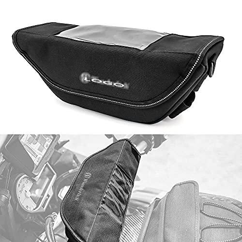 Bolsa de navegación del Manillar de la Motocicleta Saddlebag Big Screen Teléfono móvil/G.P.S para B.M.W R Nine T R1200GS ADV F900R LC R1250GS F900XR Permanente Manmiao