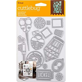 Cuttlebug Cut & Emboss Die-Lost And Found 16/Pkg