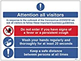 Atención a todos los visitantes En
