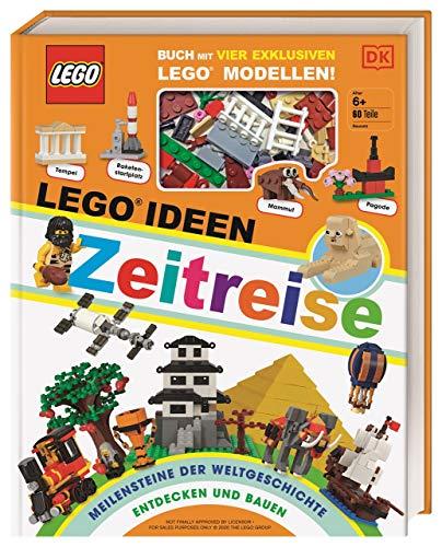 LEGO® Ideen Zeitreise: Buch mit vier exklusiven LEGO® Modellen. Meilensteine der Weltgeschichte entdecken und bauen