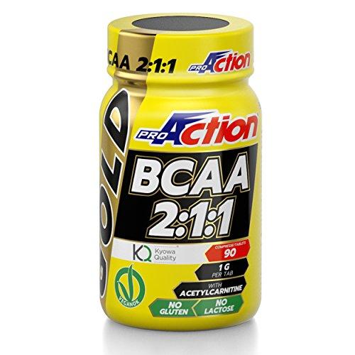 ProAction Gold BCAA 2:1:1 (barattolo da 90 compresse)
