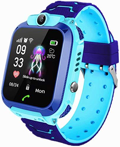 Relojes Inteligentes para niños, teléfonos con Pantalla táctil para niños y niñas, Juegos de matemáticas, cámaras, alarmas, Relojes Inteligentes para niños, Regalos