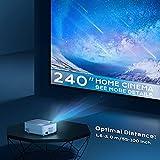 Zoom IMG-2 proiettore supporta 1080p full hd
