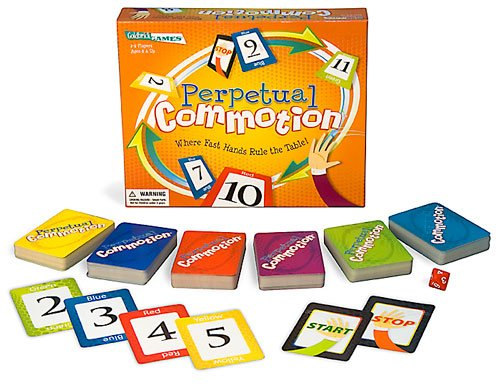Perpetual Commotion  Quick Card Game