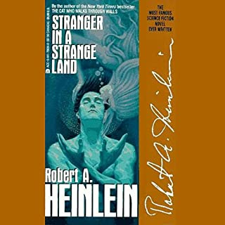 Stranger in a Strange Land audiobook cover art