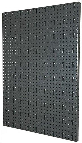 Lochblech aus Metall mit Eurolochung als Erweitung für Lochwand mit Schrauben zur Wandanbringung, Maße ca. 40x60 !