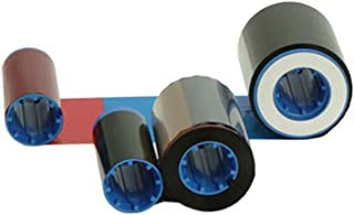 Zebra 800012-942 YMCKI Color Ribbon for Zebra ZXP Series 8 and Series 9 Retransfer ID Card Printers. 500 Prints.