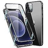 MIMGOAL Funda para iPhone 11 Pro MAX, Carcasa Adsorción Magnética Funda con Protector de Cámara Protección de 360 Grados Transparente Case for Apple iPhone 11 Pro MAX 6,5'', Negro