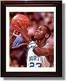 Framed North Carolina Tarheels - Michael Jordan Legend Autograph Replica Print