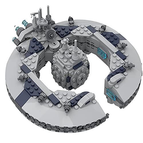 Super Battleship (Robot Control Ship) Modelo Star Wars Serie 401Parts Set Construcción Modelo Exclusivo de Coleccionista MOC, Compatible con Lego Star Wars