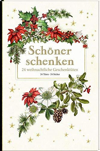 Geschenktüten-Buch - Schöner schenken. 24 weihnachtliche Geschenktüten: Sammlung Augustina