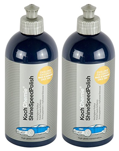 Koch Chemie 2X Shine Speed Polish Politur Hochglanzpolitur Autopolitur 500 ml