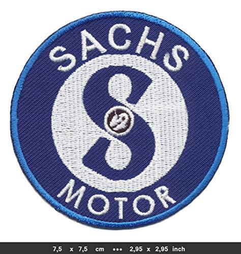 Sachs Patch Aufnäher Bügelbild Mofa Moped Mokick Kleinkraftrad FS02