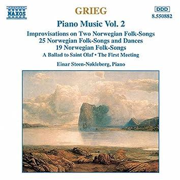 Grieg: Norwegian Folk Songs and Dances, Op. 17 and Op. 66