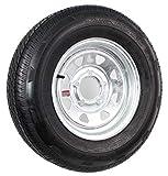 ST175/80R13 LRC Rainier ST Radial Trailer Tire on 13' 5 Lug Galvanized...