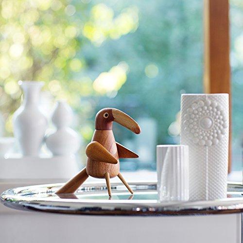 Spring Copenhagen PEPPERBIRD | PFEFFERMÜHLE m. Keramikmahlwerk | Pfeffervogel, Tucan | Designer: Tonn-P Naturholz