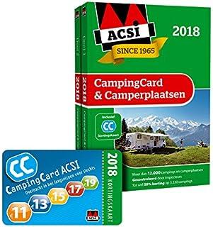 ACSI campingcard & camperplaatsen 2018 (ACSI Campinggids