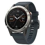 Garmin fēnix 5, Premium and Rugged Multisport GPS Smartwatch, Granite Blue