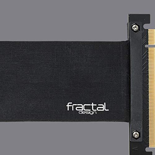 Fractal Design Flex Vrc-25 - PCI-E Riser for Define R6 - Define S2 Vision - Meshify S2 - PC Case - Highly Flexible - Zero-Latency Performance - Full PCIe 3.0 Support - Accessory