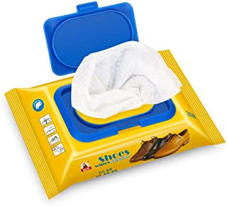 JLCKS White shoes Ceaning disinfecting wipes disposable artifact artifact tourism travel portable sneakers cleaning wipes ...