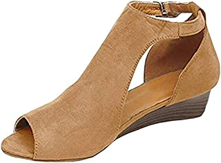 53023453ebe0b Amazon.com: MineTom - Flats / Sandals: Clothing, Shoes & Jewelry